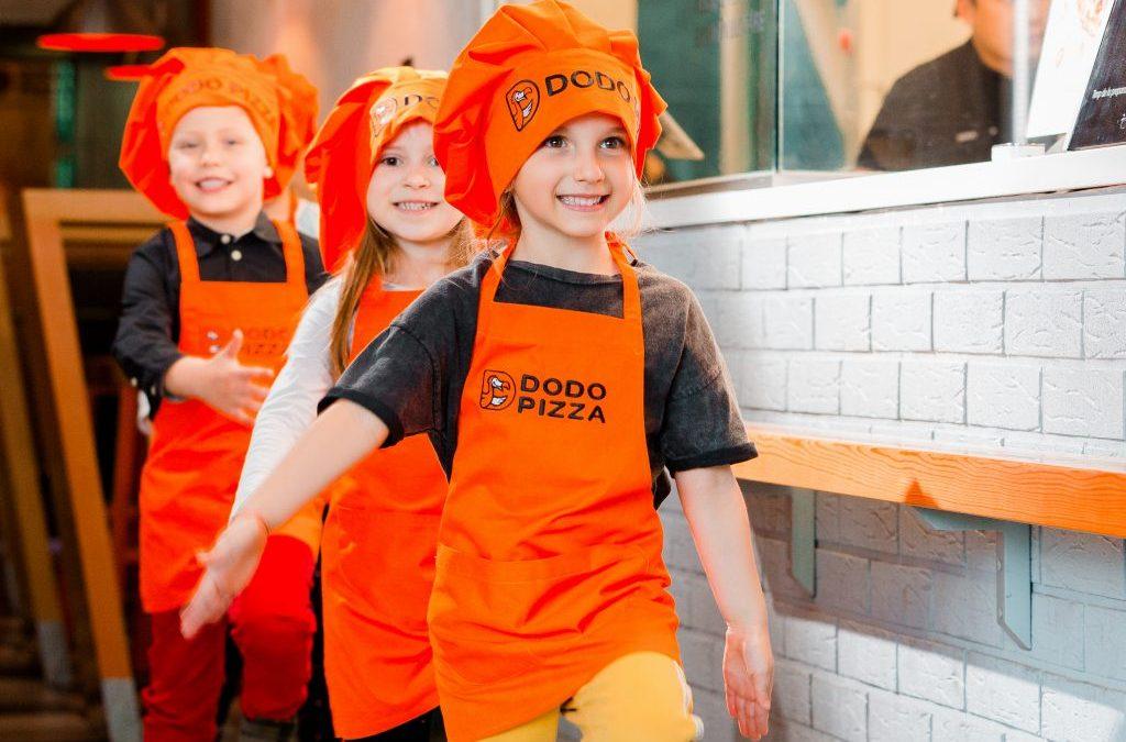 Dodo pentru Copii sau de ce Dodo Pizza este #pizzeriacopiilor?