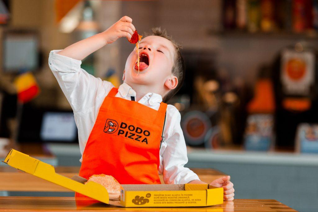 pizzeria copiilor, dodo pizza