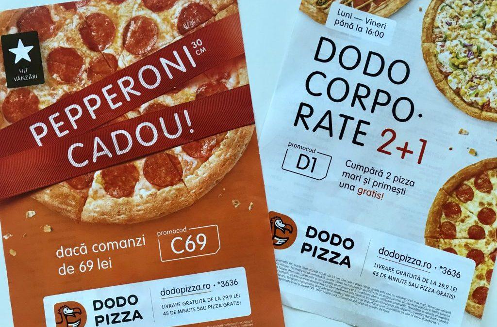 Marketing fără Mănuși: Strategia de creare a Promoțiilor la Dodo Pizza